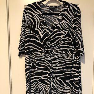 Jones New York Animal Print Dress 3x